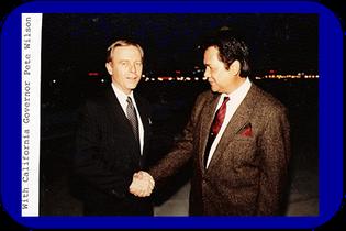 Senator & California Governor Pete Wilson