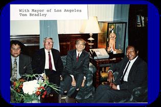 Mayor of Los Angeles, California Tom Badley
