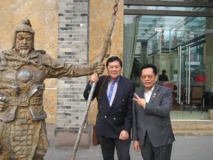 Chongqing, China with Romeo Abenoja